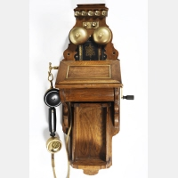 L. M. Ericsson telephone wall set